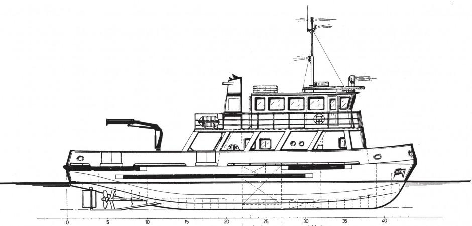 Navire Augustin E. Ly