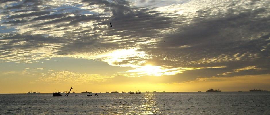 Sunrise Wreck in Nouadhibou
